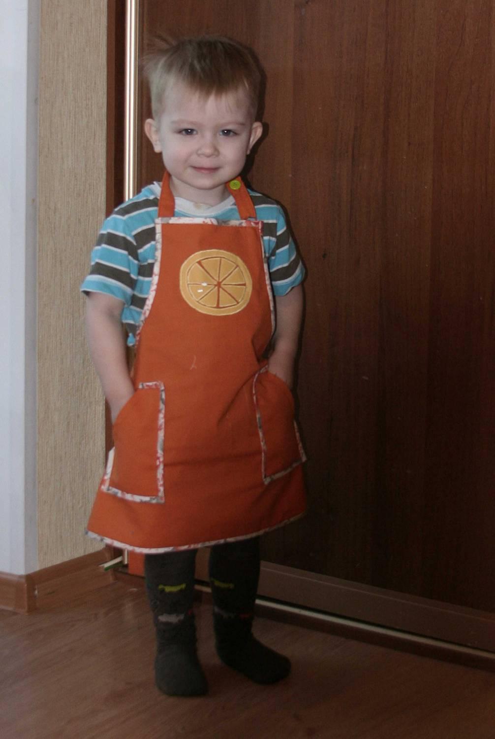 Как сшить детский фартук