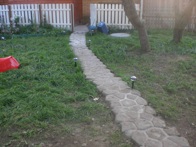 Садовые дорожки самим как сделать